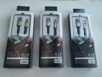 Cablu usb - micro usb/iphone/tip c incarcare rapida