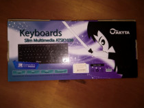 Tastatura slim pe USB noua