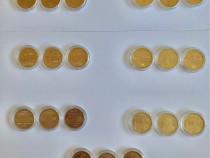 Colectie set monede 50 bani 2010 - 2017 BNR Romania