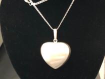 Inima Mare 4 cm din Argint