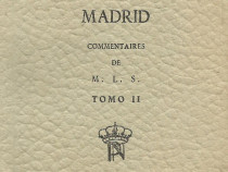 2 carti miniaturale Palatul regal Madrid Spania & Escorial