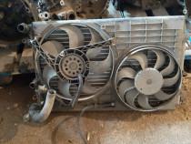 Radiator AC/ climă și ventilatoare Skoda Fabia 1.2 / 1.4 b