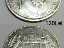 Monede argint Franc Iosif regele Ungariei 1900 si 1908