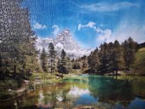 "Tablou puzzle ""Blue Lake"""