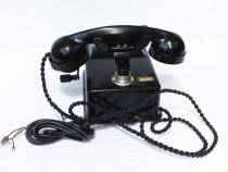 Telefon vechi cu manivela romanesc