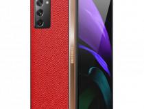 Husa Samsung Galaxy Z Fold2 5G Husa PU+PC U01230399 Fold 2