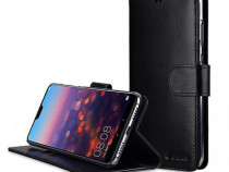 Husa Telefon Wallet Case Huawei P20 Pro Black BeHello