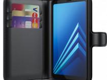 Husa Telefon Wallet Case Samsung Galaxy A8 2018 a530 Black