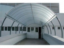 Policarbonat monocameral 10x2100x6000 mm cu protectie UV
