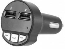 Poss Modulator FM Incarcare Usb Bluetooth PSCACFM01BK