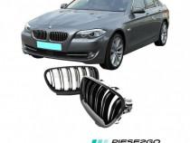 Set grile bara fata radiator BMW F10 F11 M5 Look 2010-2016