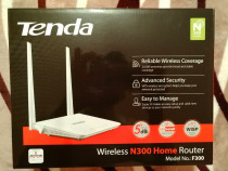 Router Wireless-N Tenda F300, 300Mbps, WAN, LAN, 2 Antene