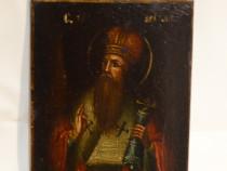 Icoana anii 1850 Sfantul Ion / Icoana veche pictata pe lemn