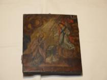 Icoana veche BUNA VESTIRE anii 1850 / Icoana veche pictata p