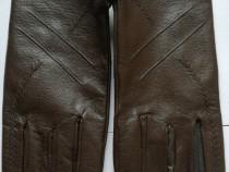 Mănuși piele damă maro