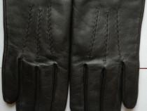 Mănuși piele damă negre