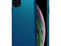Husa telefon Plastic Apple iPhone 11 Pro 6.3 Blue Nilkin