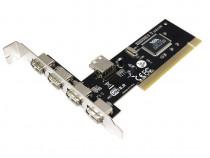Placa USB2.0 PCI cu 4+1 porturi