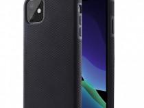 Husa telefon Plastic Apple iPhone 11 6.1 black antishock