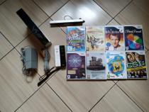 Consola Nintendo Wii, accesorii originale, 2 controllere & 8