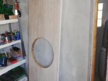 Blat de bucatarie decupat rotund