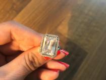 Inel din argint 925, Diamonique