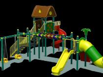 Complex de joaca pentru copii / echipamente pentru parcuri