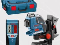 De inchiriat nivela laser cu linii Bosch GLL 3-80P + BM1