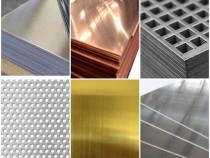 Tabla aluminiu Tabla alama Tabla cupru Tabla inox Tabla zinc