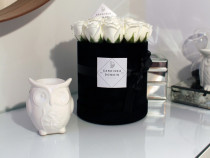 Aranjament floral gardinea domain 17 tradafiri din sapun,bk