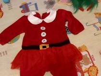 Costumaș Crăciun mărime 6-9luni