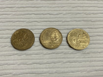 Moneda 50 Bani Mircea cel Batran Aurel Vlaicu Neagoe Basarab