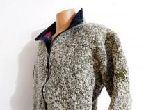 Geaca groasa tricotată Mammut outdoor XL si căciula unisex