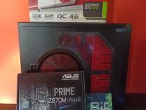 Kit gaming procesor intel 6600k, asus PRIME Z270M,ram,