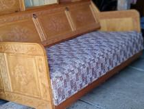 Canapea extensibila cu lada de depozitare