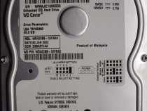 "VINTAGE Hard Disk IDE 3,5"" HDD-40 Gb Western WD400BB-00FRS0"