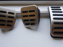 Protectii ornamente pedale aluminiu-cauciuc VW Audi Skoda