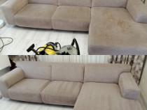 Curățare canapele la domiciliu clientului