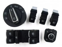 Set butoane cromate geamuri, oglinzi - Audi A4 B8, A5, Q5