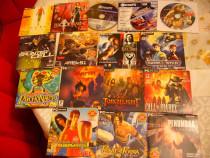 Colectie 16 DVD-uri jocuri