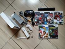 Consola Nintendo Wii completa, cu toate accesoriile & jocuri