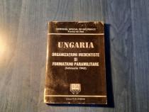 Ungaria organizatiuni iredentiste si formatiuni paramilitare