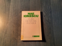 Curs de istorie a logicii Nae Ionescu