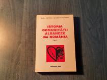 Istoria comunitatii albaneze din Romania vol. 1