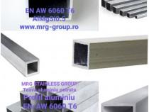Teava aluminiu dreptunghiulara 70x50x2mm rectangulara inox