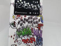 Husa Flip Iphone 6 / 6s+ cablu de date cadou