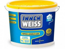 Vopsea lavabila alba pentru interior Innenweiss 15L