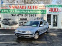 VW Golf IV,1.4 Benzina,2003,Finantare Rate