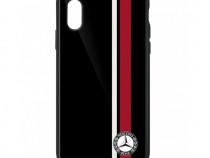 Husa Telefon Oe Mercedes-Benz iPhone X / iPhone XS Negru