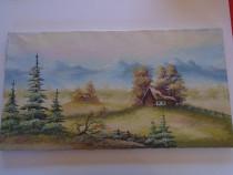Tablouri vechi pictate pe panza - foarte ieftine!